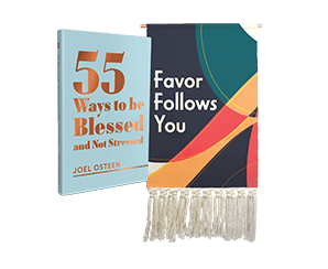 PREMIUM WOVEN WOOL WALL TAPESTRY and 55 WAYS TO BE BLESSED AND NOT STRESSED