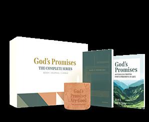 GOD'S PROMISE DEVOTIONAL+ GOD'S PROMISES JOURNAL+ CANDLE