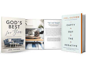 Empty Out The Negative Book and Best For You Devotional