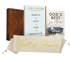 Empty Out The Negative Book, Table Runner, Daily Bible and Best For You Devotional