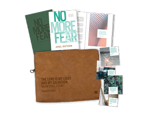 NO MORE FEAR GUIDED JOURNAL NO MORE FEAR BOOK PREMIUM ELECTRONICS BAG DECLARATION CARDS