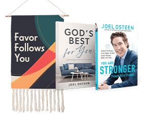 You Are Stronger Than You Think, God's Best For You and Favor Follows You Banner