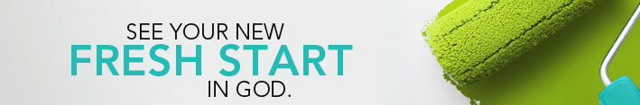 See your new fresh start in God
